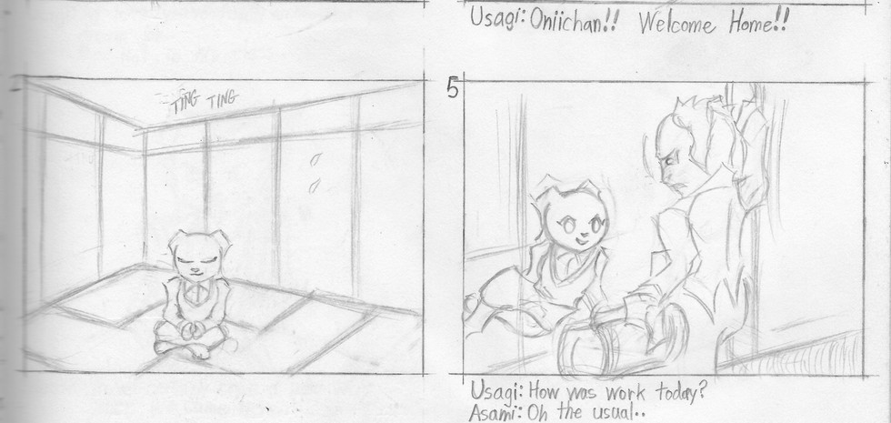 Story Boards 6-1