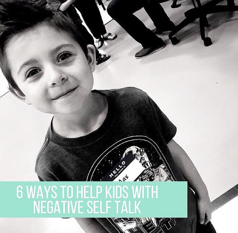 Super Hero Kids Series: 6 Ways to Help Kids Navigate Negative Self Talk ⁣