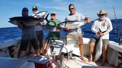 Catching Tuna is fun