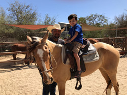 Learning to ride a horse