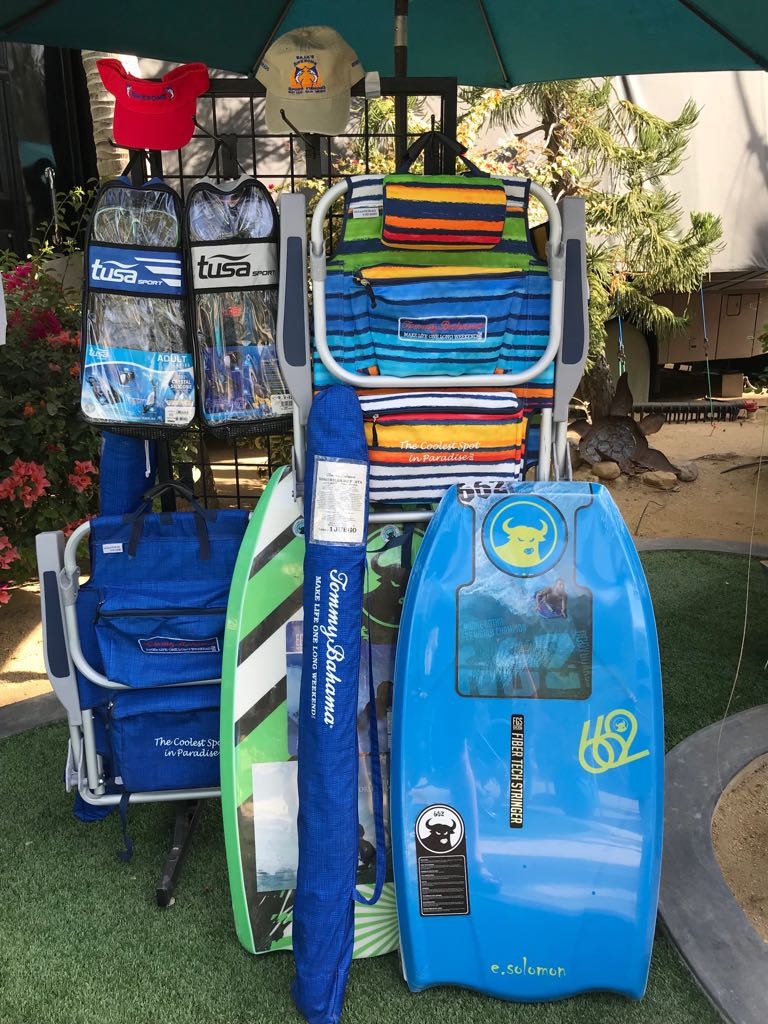 Snorkel gear rental Los Barriles