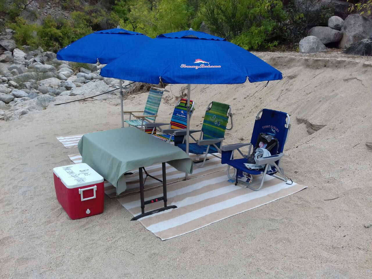 Beach Umbrella and Chair Rental