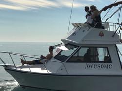 Enjoy a day at sea