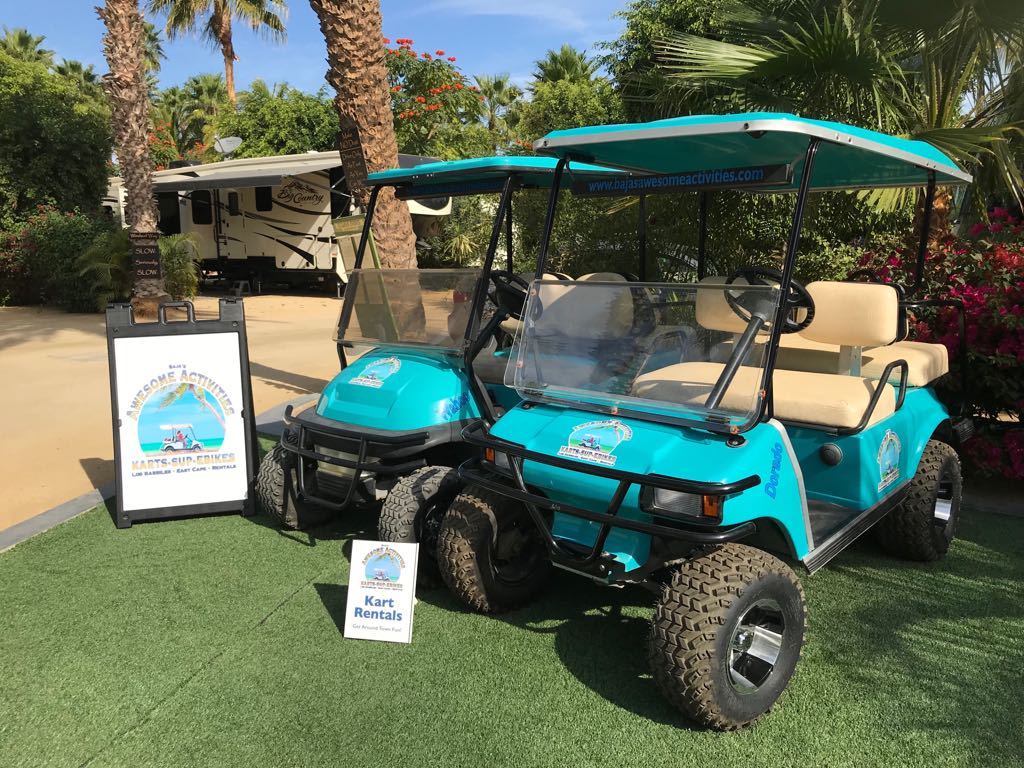 Golf Cart Rental Los Barriles