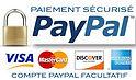 image Paypal indiquant que tout paiement est sécurisé