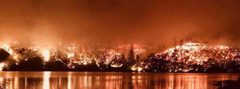 Carr Fire, California, July 2018