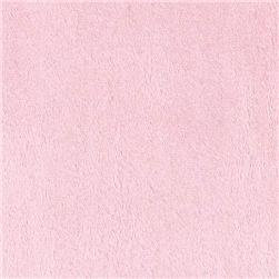 STROLLER BASSINET SHEET, MINKY FUR PINK