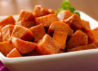Honey Glazed Sweet Potato