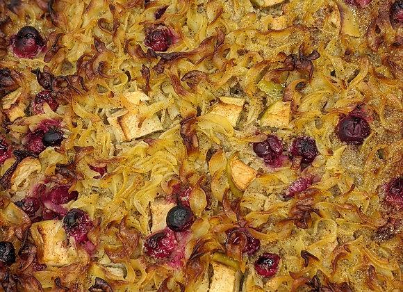 Apple Cranberry Noodle Kugel