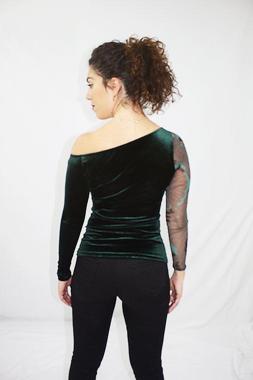 Asymmetric Long Sleeve Top