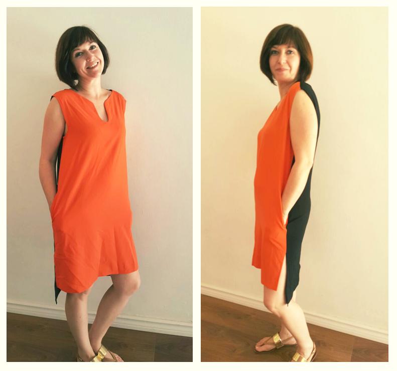 קטרין בשמלה מקסימה מעשה ידה