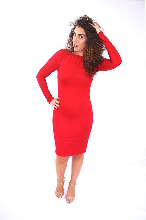 Open back Tube Dress / Sewing Pattern