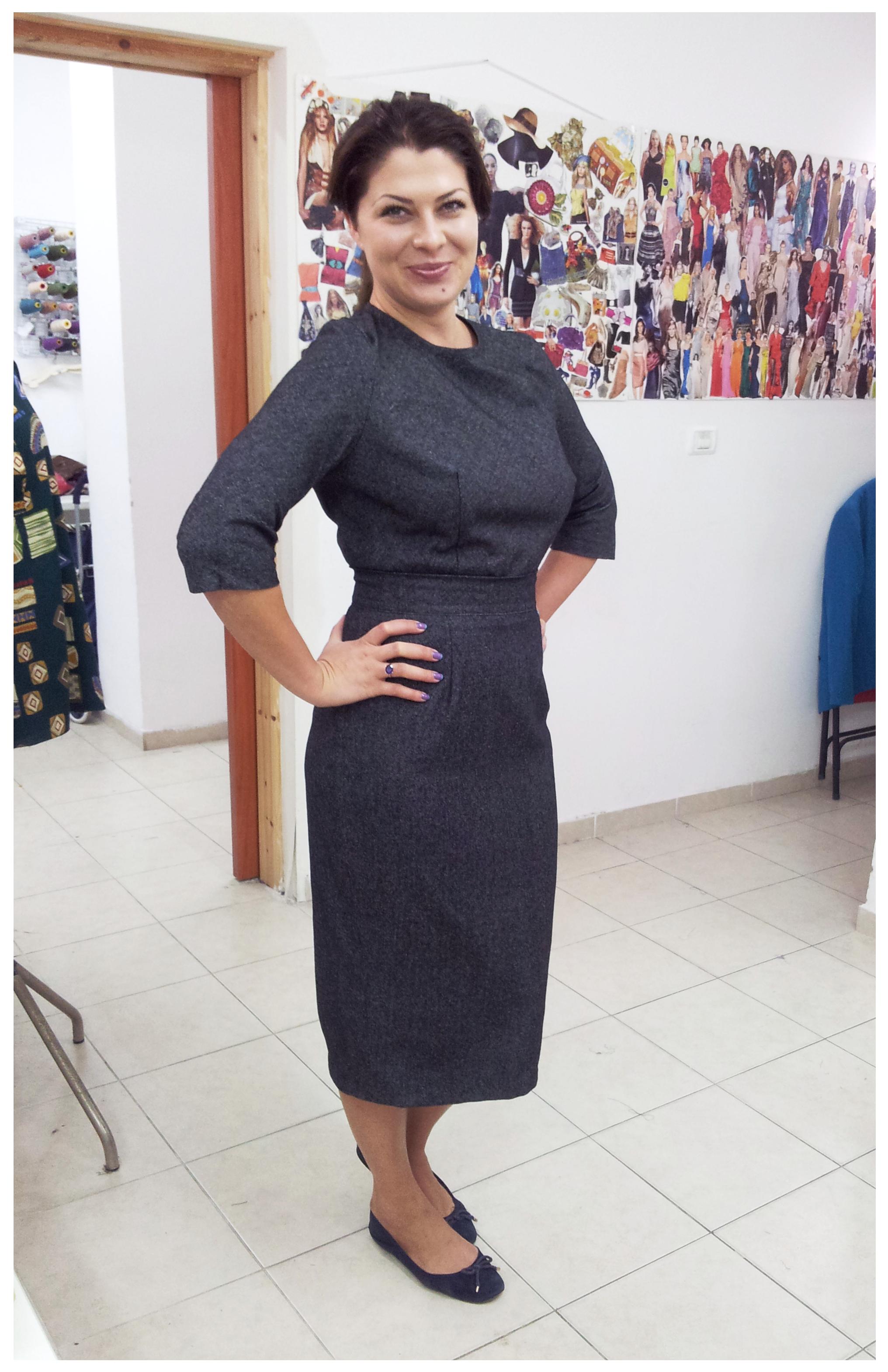 ורה בשמלה בעיצוב אישי