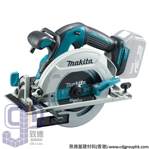 """日本""""MAKITA""""牧田-電動工具-165mm(6-1/2吋)充電式圓鋸/風車鋸-DHS680RMJ"""