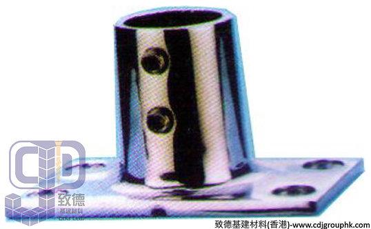 中國-圓喉駁通-316不銹鋼方底佛蘭通座(1寸)-TKSXNO14F(WIP)