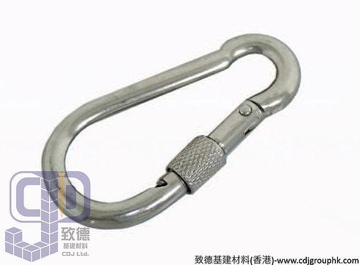 中國-316不銹鋼有鎖爬山扣/葫蘆勾扣(5-14mm)-7550316(WI)