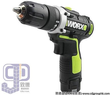 """德國""""WORX""""威克士-電動工具-12V鋰電雙速電鑽-WU128.4"""