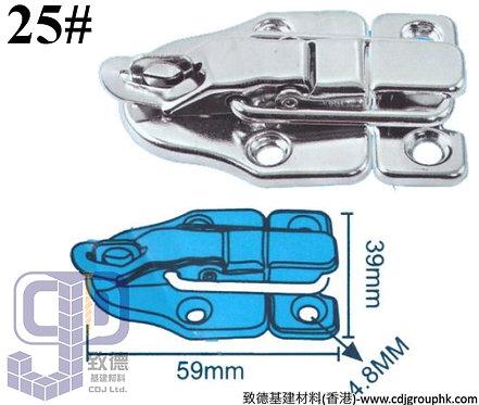 中國-白鋼#25箱扣(39x59mm)-TKBX025(WIP)