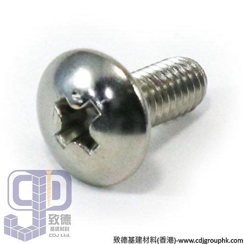 中國-304/316/A2-50/A4-50/A4-70-大扁頭機絲(Truss Head Machine Screw)-SSTHMS