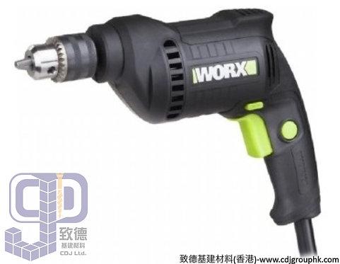 """德國""""WORX""""威克士-電動工具-10mm可調速手電鑽(450W)-220V-WU122"""