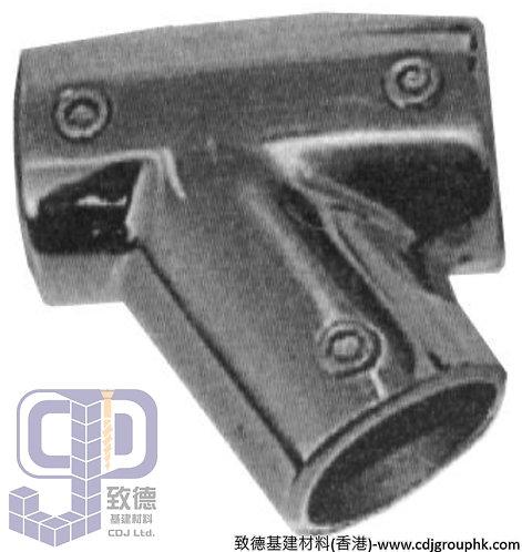 中國-圓喉駁通-316不銹鋼向右60度三通(7/8寸-1寸)-TKSXNO2(WIP)