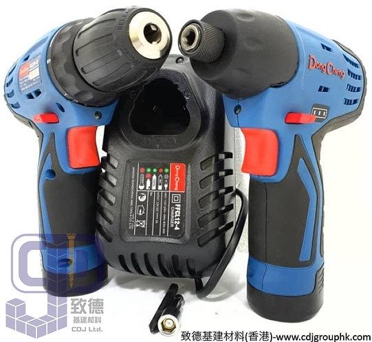"""中國""""DONG CHENG""""東成-電動工具-12V手電鑽/電批套裝孖批-DCK1T01"""