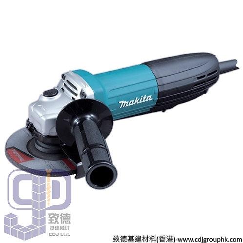 """日本""""MAKITA""""牧田-電動工具-100mm(4吋)角向磨光機-110V-GA4034"""