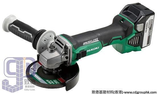 """日本""""HIKOKI""""高壹(HITACHI日立)-電動工具-18V鋰電充電4吋磨機<無碳刷>(淨機)-G18DBL"""
