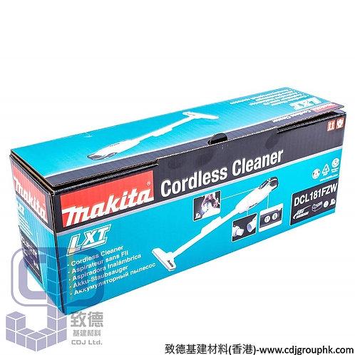 """日本""""MAKITA""""牧田-電動工具-18V鋰電充電式吸塵機(1.5Ah 套裝)-DCL181FZW(白色)"""