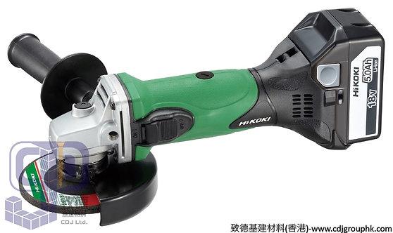 """日本""""HIKOKI""""高壹(HITACHI日立)-電動工具-18V鋰電充電4吋磨機-G18DSL"""