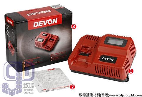 """中國""""DEVON""""大有-電動工具-20V 液晶夜光閃電充電器-5339L-20F"""