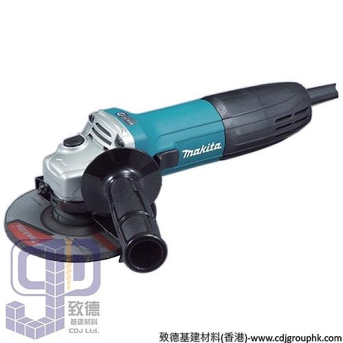 """日本""""MAKITA""""牧田-電動工具-125mm(5吋)角向磨光機-110V-GA5030"""