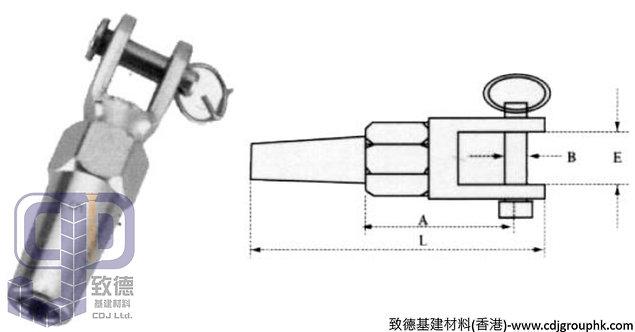 中國-316不銹鋼叉頭快速拉具(3-6mm)-TK0306316(WIP)