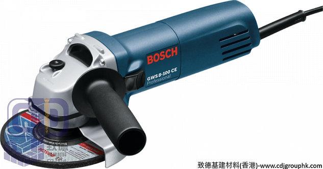 """德國""""BOSCH""""博世-電動工具-4吋角磨機Professional-GWS 8-100 CE"""