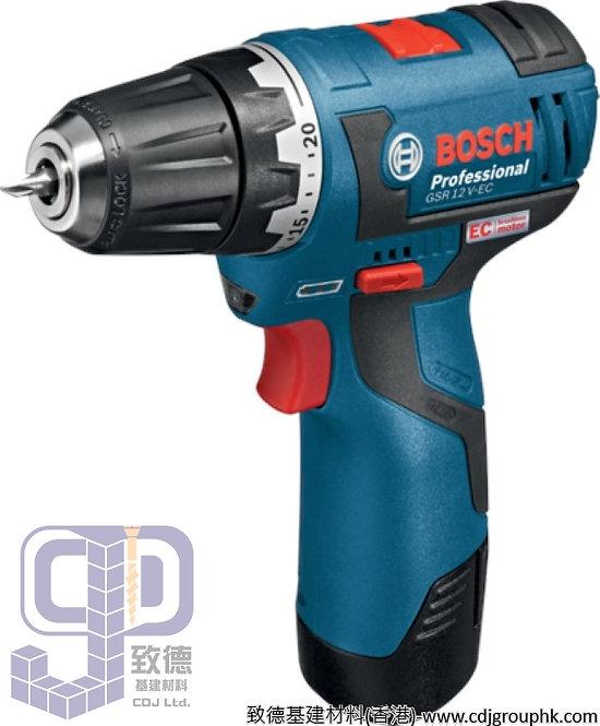 """德國""""BOSCH""""博世-電動工具-鋰電手電鑽/螺絲批<無碳刷>Professional-GSR 12 V-EC"""