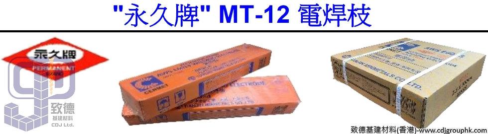 "中國""永久牌""-MT12電焊枝(鐵)-MT1281012"