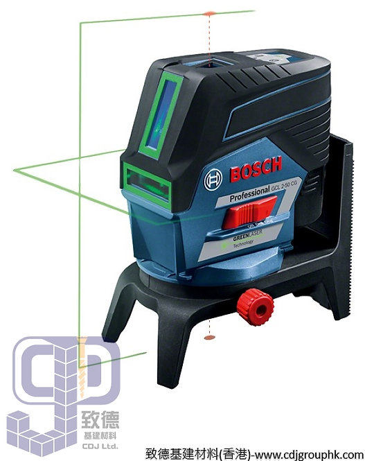 """德國""""BOSCH""""博世-電動工具-平水儀/組合雷射(綠光)Professional(帶藍芽功能)-GCL 2-50 CG"""