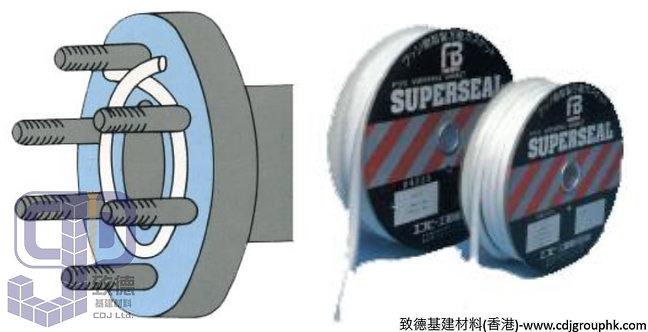 中國-鐵弗龍超級掙口條PTFE JOINT SEALANT(9.5mmX3mmX8米-20mmX5mmX5米)-TK6A950308(WIP)