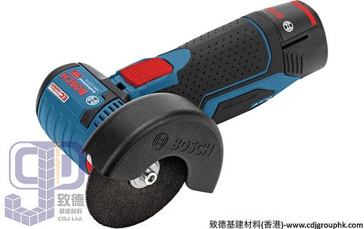 """德國""""BOSCH""""博世-電動工具-12V鋰電角磨機2.5Ahx2<無碳刷>Professional-GWS 12V-76"""