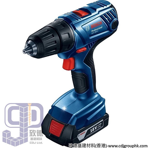"""德國""""BOSCH""""博世-電動工具-18V鋰電充電式螺絲批(2x1.5Ah)Professional-GSR 180-Li"""