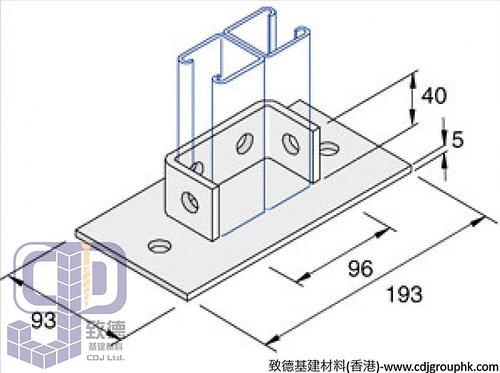 中國-HDG-SS-掌板(Floor Bracket)-HDGSSFB