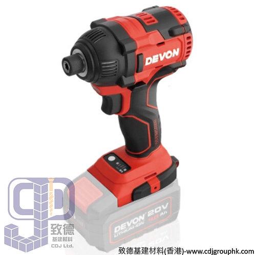 """中國""""DEVON""""大有-電動工具-電卜批(起子批)衝擊批<無碳刷>-5733-Li-20H"""