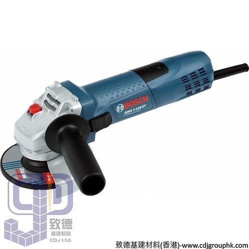 """德國""""BOSCH""""博世-電動工具-4吋角磨機Professional-GWS 7-100 ET-110V"""