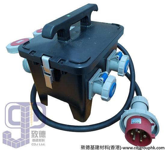 """中國""""APEKS""""-380V+220V防水蘇63A配電膠箱32A-5Px2位+16A-3Px2位連RCD+MCB(IP67)-AP1208"""