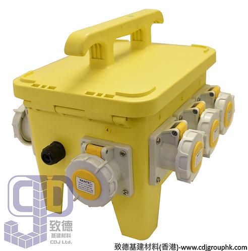 """中國""""APEKS""""-110V或220V防水蘇40A配電膠箱16A-3Px7位連RCD+MCB(IP67)-960605(960604)"""