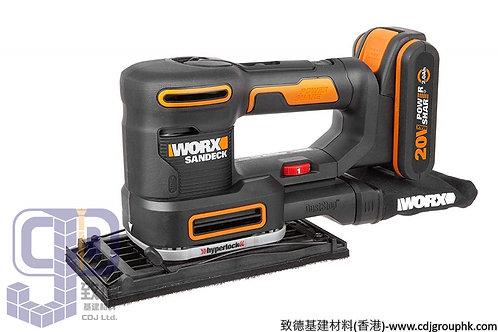 """德國""""WORX""""威克士-電動工具-20V鋰電砂紙機-WX820"""