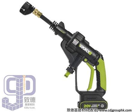 """德國""""WORX""""威克士-電動工具-20V鋰電高壓清洗槍(凈機)-WU629.9"""