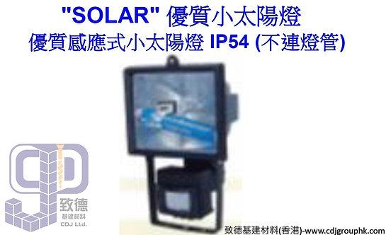 """中國""""SOLAR""""-優質感應式小太陽燈IP54(不連燈管)-ZY1002G"""
