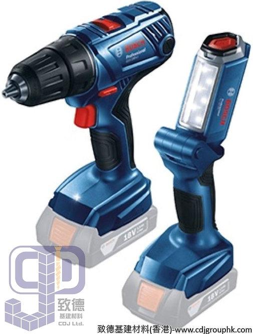 """德國""""BOSCH""""博世-電動工具-18V鋰電充電批連LED電筒(2x3.0Ah)Professional-GSR 180-Li+GLI 180-Li"""