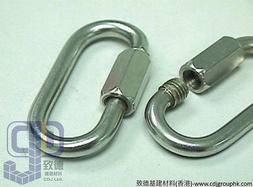 中國-316不銹鋼鏈扣(錬鎖)3.5mm-16mm-771035316(WI)